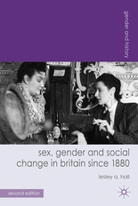cover picture Sex gender and social change